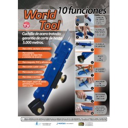 Multiherramienta World Tool Cuchilla Multiusos